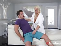 Hot mommy Paris Knight Wants Young Hard Pecker
