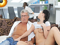 DADDY4K. Erica will never forget raunchy coition with dad of...