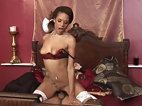 Every sex pose is very welcome for horny brunette Keisha Kane