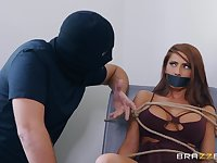 Madison Ivy adores playing sex games with her costumed friend