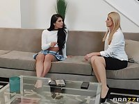 dominant India Summer wants to punish her girl with a strapon