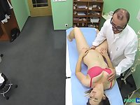 Fake hospital is back with another video of a Doctor fucking his patient