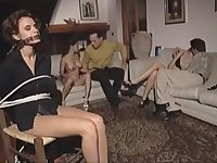 Hot young girls Wanda, Peggy and Lydia fucked hard