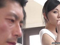 Japanese sexpot Miyuki Ojima is off the charts sexy and she loves to fuck