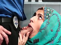 Caught jerking off by partners mom Hijab-Wearing Arab